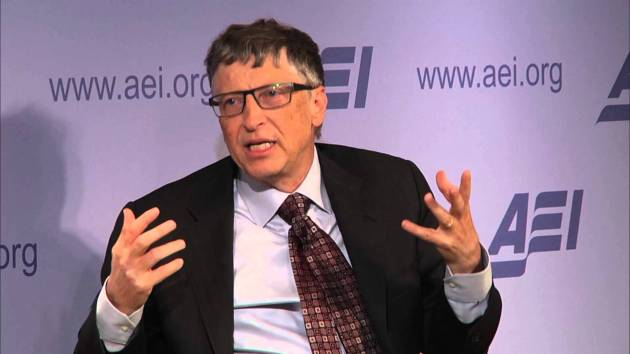 Gates at the AEI Freedom Project Conference