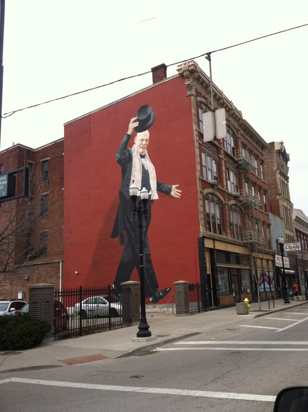 Mr. Tarbell Tips His Hat by ArtWorks. On 1109 Vine Street