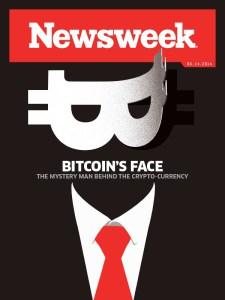 Newsweek's cover on Satoshi Nakamoto